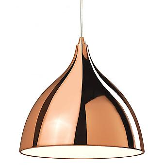 Firstlight Modern Copper Café Ceiling Hanging Pendant Light