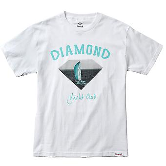 Diamond Supply Co OG Yacht Club T-shirt White