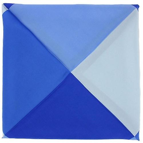 Michelsons of London Four Way Silk Handkerchief - Royal Blue