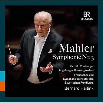 Gustav Mahler / Haitink / Romberger - Gustav Mahler: symfoni 3 [CD] USA import