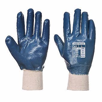 Portwest - Nitril Handschuh Strickbund Pack 12