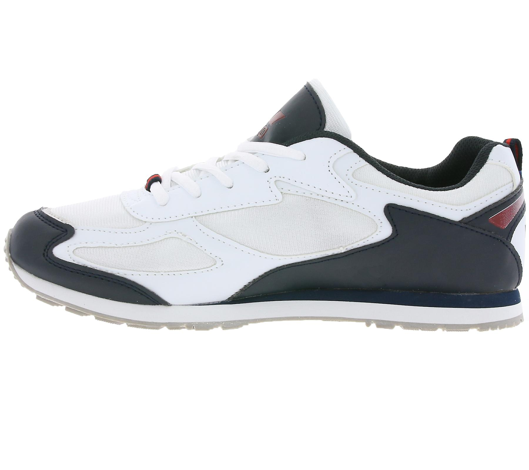 men's LICO shoes sneaker running Nelson white pwfwq4