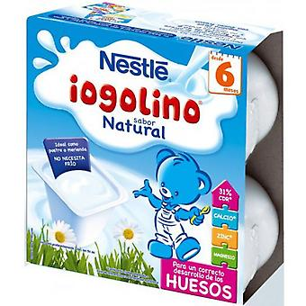 Nestlé Iogolino Natural 4 Units (Childhood , Healthy diet , Desserts And Snacks)