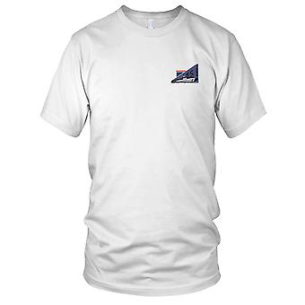 US Navy SS-566 USS Trout Embroidered Patch - Mens T Shirt