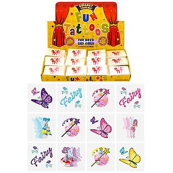 Box of 576 Mini Fairy Tattoos