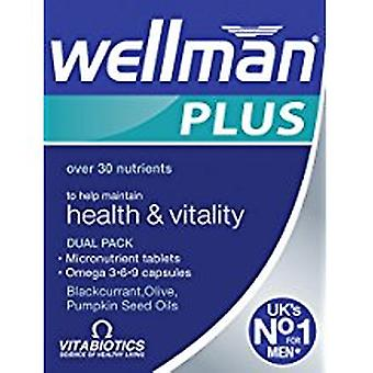 Vitabiotics, Wellman Plus, 56 tabletter