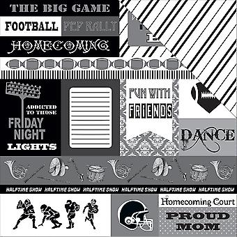 Big Game Double-Sided Cardstock 12