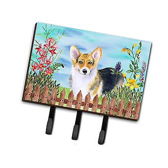 Carolines Treasures  CK1204TH68 Pembroke Corgi Spring Leash or Key Holder