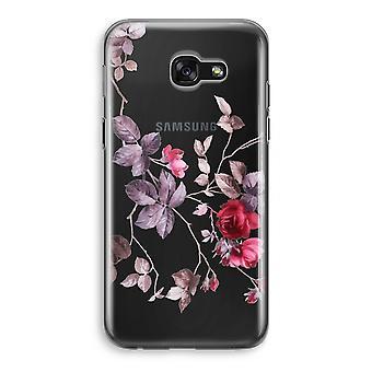 Samsung Galaxy A5 (2017) Transparent Case - Pretty flowers
