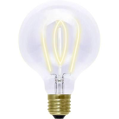 LED E27 Globe 4 W = 15 W Gold (Ø x L) 125 mm x 180 mm EEC: B Segula dimmable, Filament 1 pc(s)