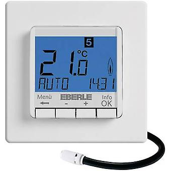 Indoor thermostat Flush mount 7 day mode 10 up to 40 °C Eberle