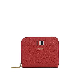 Thom Browne women's FAW013A00198600 red leather wallets