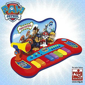 Reig Paw Patrol: Organ With Characters, Melodies and Micro
