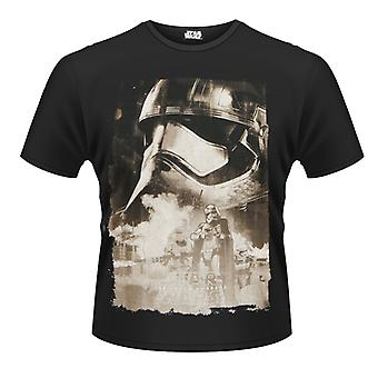 Star Wars - capitán Phasma Poster playeras