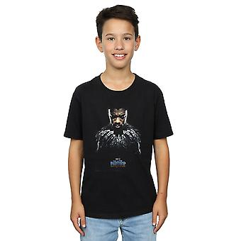 Marvel Boys Black Panther T'Challa Poster T-Shirt