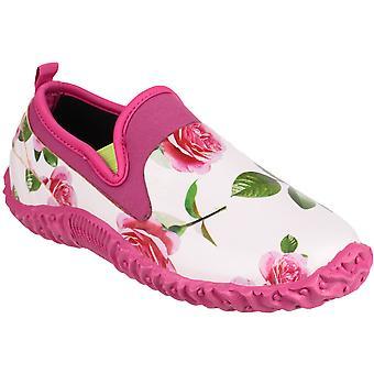 Cotswold Ladies Backdoor High Def Printed Rubber Waterproof Garden Shoe Pink