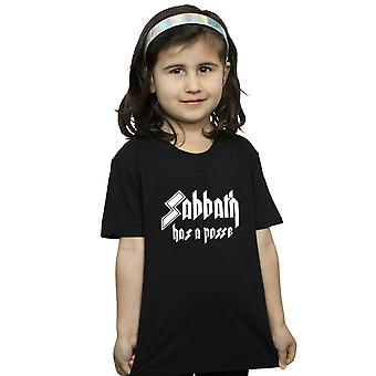 Black Sabbath Girls Has A Posse T-Shirt