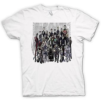 Mens T-shirt-X Männer - Fahndungsfoto - lustig
