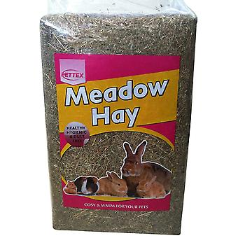 Pettex Compressed Rabbit Small animal Bale Meadow Mini Hay  2 kg
