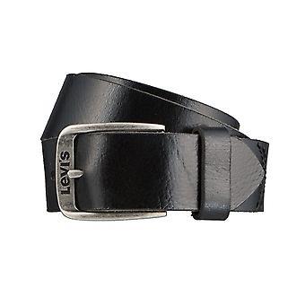 Los pantalones vaqueros de Levi BB´s cinturones hombre cinturones cuero correa negro 3147