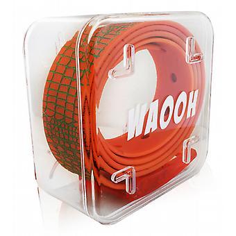 Waooh - Ceinture Plastique Waooh Orange/Vert
