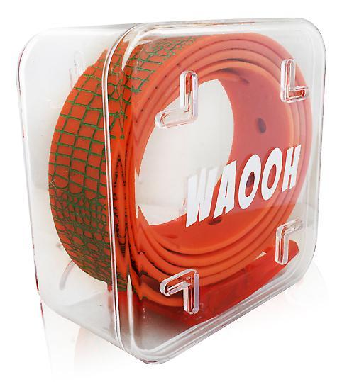 Waooh - plast Waooh/grønt belte