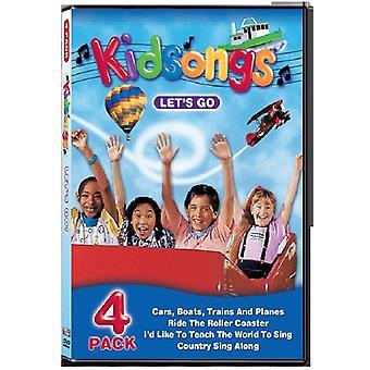 Kidsongs - Lad os gå [DVD] USA import