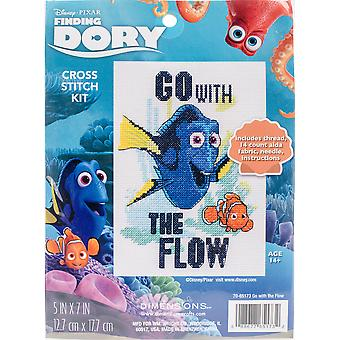 Dimensions Finding Dory Counted Cross Stitch Kit 5
