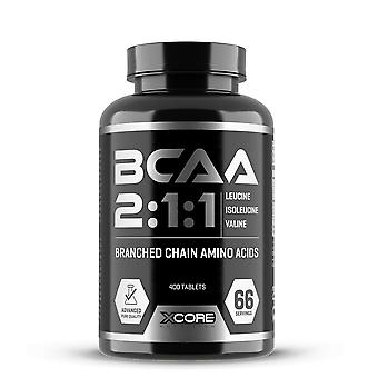 XCORE - BCAA 2:1:1 400 tabs - herstel oefening