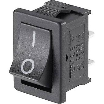 Toggle switch Mini-Wippenschalter MRS-101-C3 1xEin 1 pc(s)