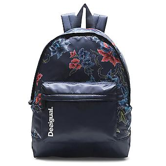 Desigual sports backpack daypack Backpach geopatch blue 18WQXW23/5189