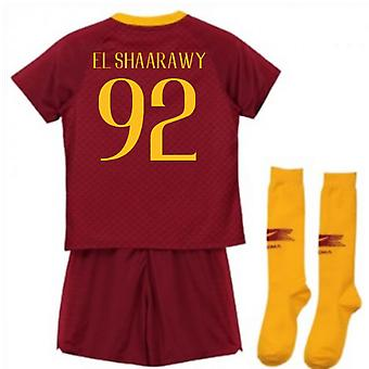2018-2019 AS Roma Home Nike Little Boys Mini Kit (El Shaarawy 92)