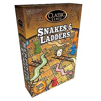 Classic Games Snakes & Ladders Game