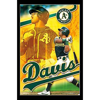 Oakland Athletics - Khris Davis Poster Print