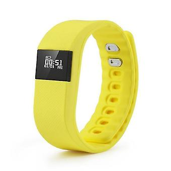 Stuff Certified ® Original TW64 Smartband Sport Smartwatch Smartphone Watch OLED iOS Android Yellow