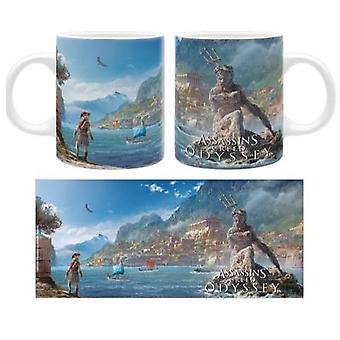 Assassin creed knows Cup Greece, printed, ceramic, capacity approx. 320 ml.