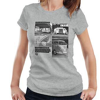 Volkswagen Type 2 Campervan 1967 Shots Women's T-Shirt