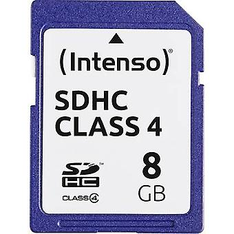 Intenso Blue SDHC card 8 GB Class 4