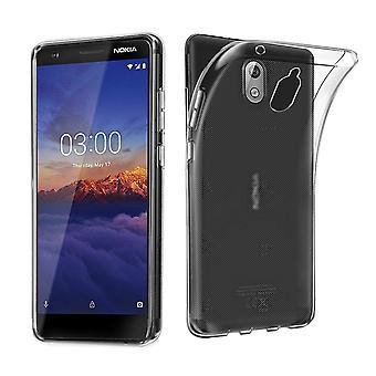 Nokia 3.1 transparent case cover silicone