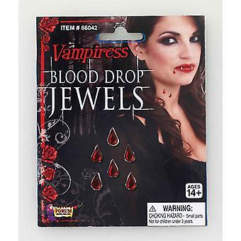 Bnov Vampiress Blood Drop Jewels