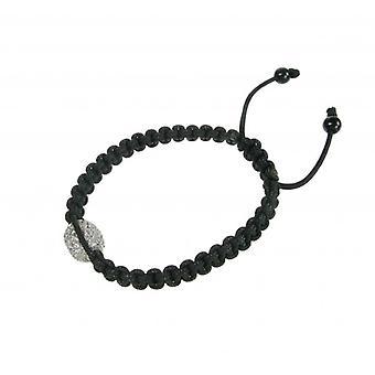 Cavendish French Large CZ Bead Friendship Bracelet