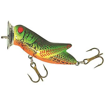 Rebel Crickhopper Popper 3/16 oz Fishing Lure - Fire Tiger