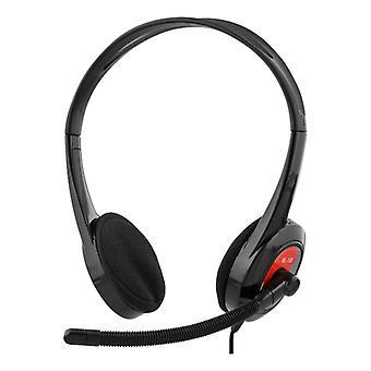 DELTACO headset for Ultrabooks, tablets, mobile phone