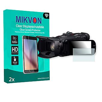 Canon Legria HF G30 Screen Protector - Mikvon Clear (Retail Package with accessories)