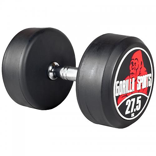 27,5 kg Dumbbell halt�re poids