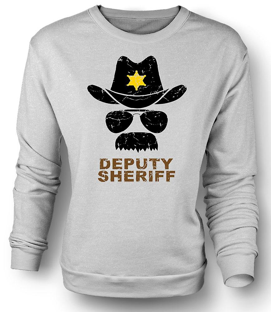 Mens Sweatshirt Deputy Sherriff Funny Police - Graphic Design