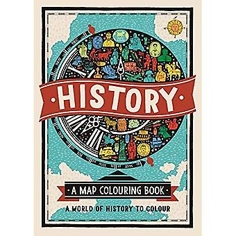 History: A Map Colouring Book:�A World of History to Colour