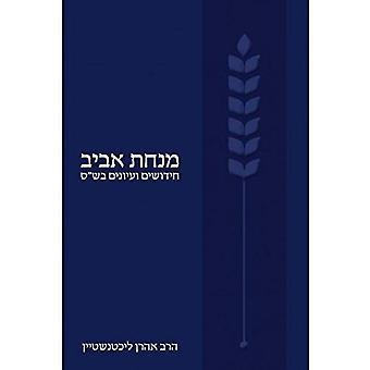 Minhat Aviv: Studies in Talmudic Topics  (Hebrew)