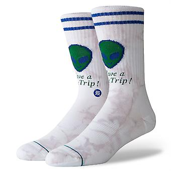 Stance Lifestyle Mens Socks ~ Space Trip (size L)