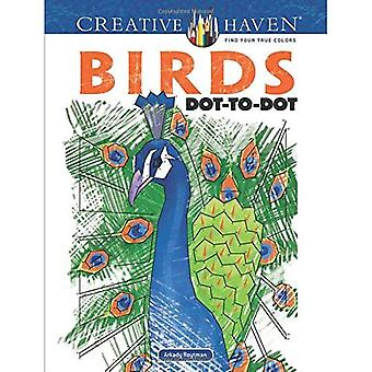 Creative Haven Birds Dot-To-Dot